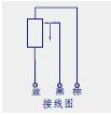KTM微型铰接位移传感器(电子尺)接线图